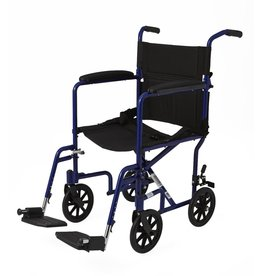 Medline Industries Basic Aluminum Transport Chair 8""