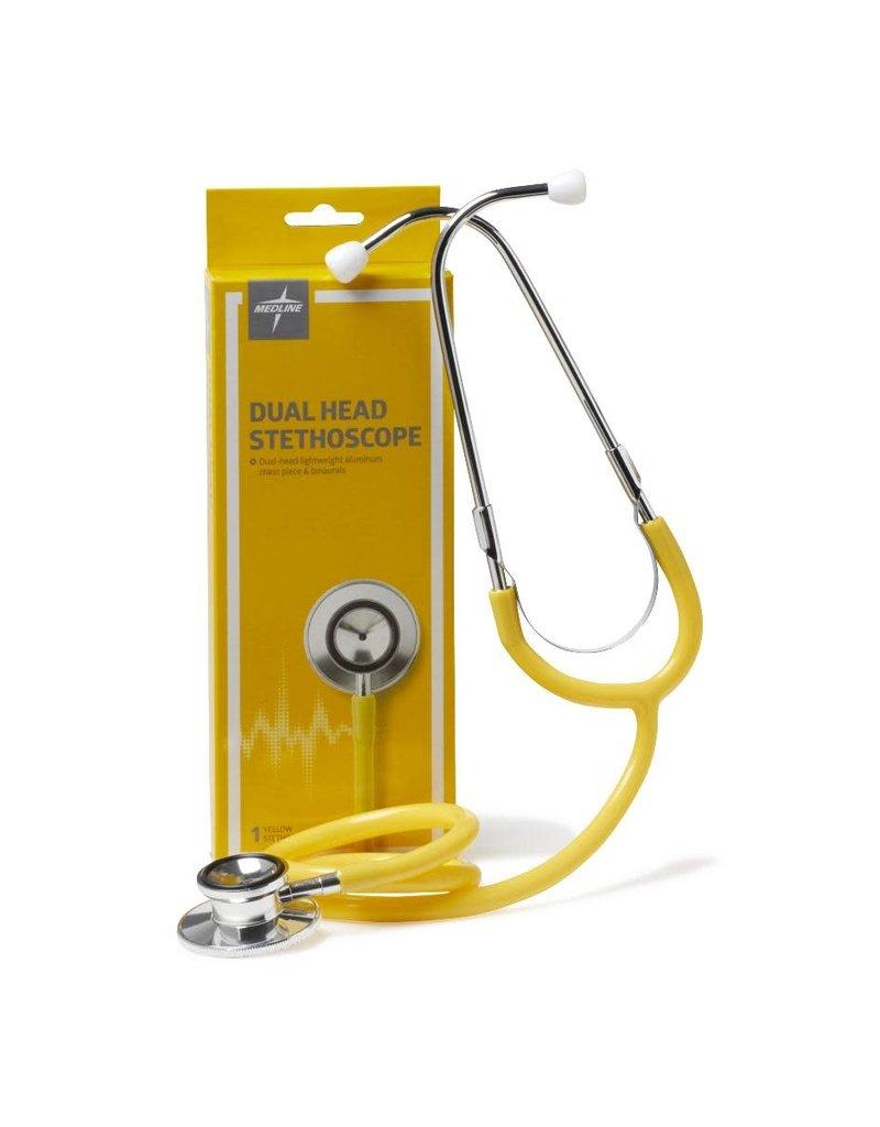 Medline Industries Dual Head Stethoscope