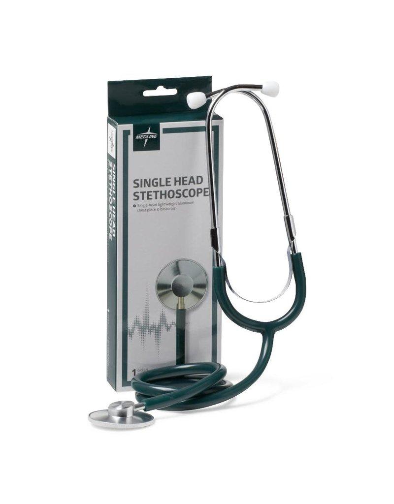 Medline Industries Single Head Stethoscope