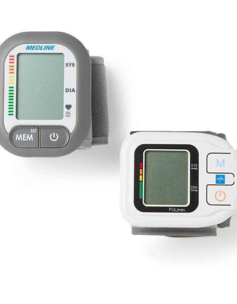 Medline Industries Digital Wrist Blood Pressure Monitor