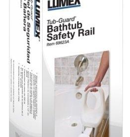 Lumex Tub-Guard Bathtub Safety Rail