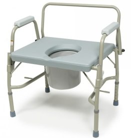 Lumex 3-in-1 Bariatric Drop Arm Commode