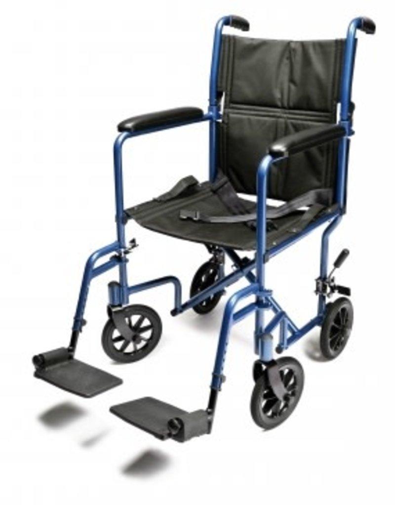 GRAHAM-FIELD Lightweight Aluminum Transport Chair