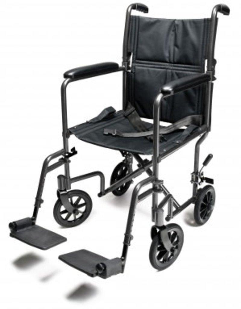 E&J E&J Steel Transport Chair
