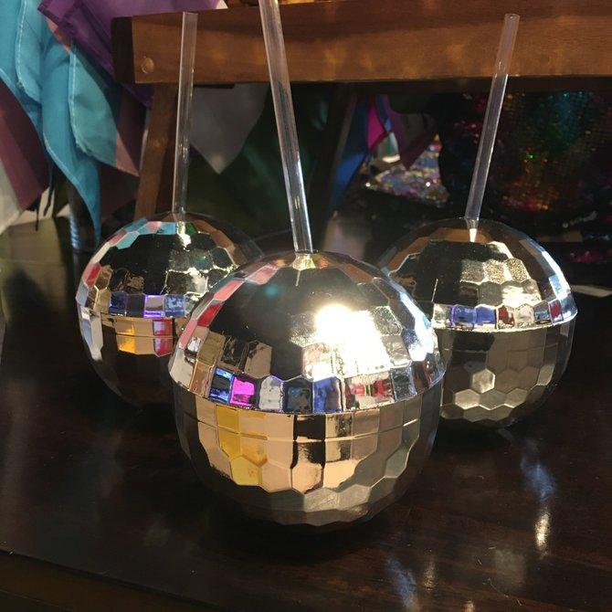 Cup - Disco Ball - Silver