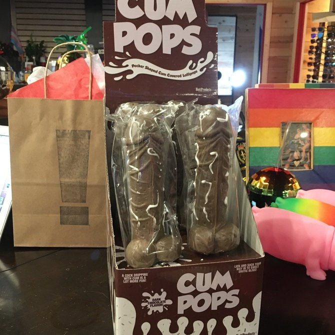 Cum Pop - Dark Chocolate
