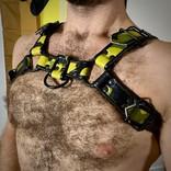 Ryder Gear Ryder Bulldog Harness Green Camo SML/MDM