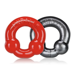 OX Ultraballs 2 pack Steel/Red