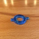M2M1206B-S Elastomer Cock Ring Blue Small