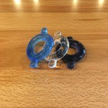 M2M1216-S Elastomer Cock Ring 3 Pack Small