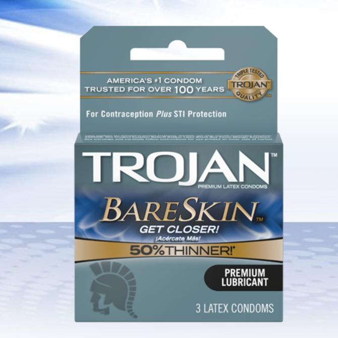 Trojan BareSkin 3-Pack