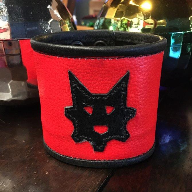 Ryder Gear Ryder Wrist Wallet Fluorescent Orange