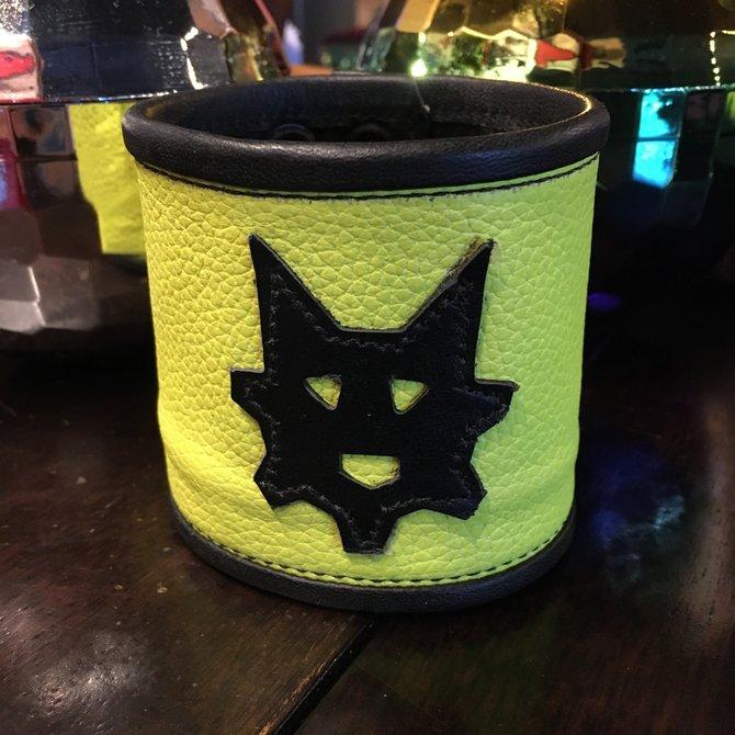 Ryder Gear Ryder Wrist Wallet Fluorescent Yellow