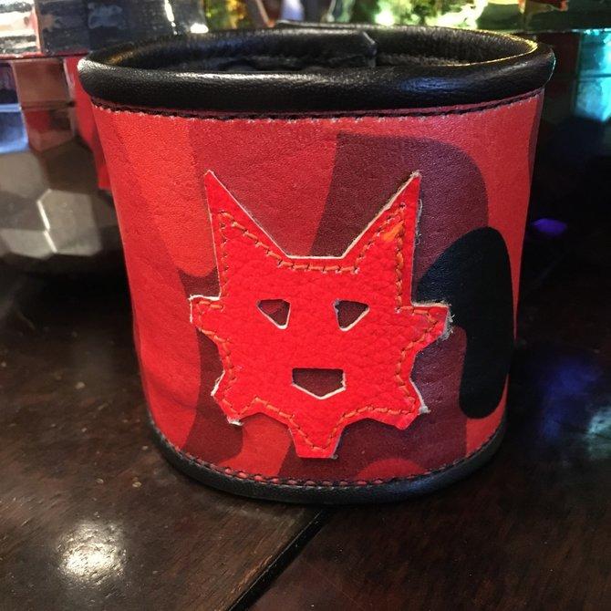 Ryder Gear Ryder Wrist Wallet Red Camo