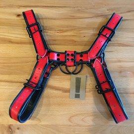 Ryder Gear Ryder Bulldog Harness Red LRG/XLG