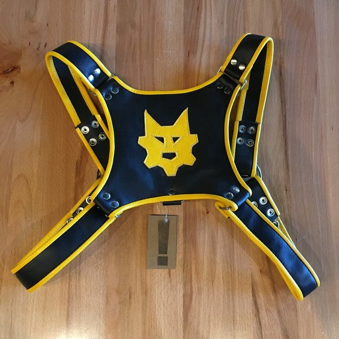 Ryder Gear Ryder Pup Club Harness Yellow OS