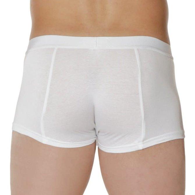 Go Softwear Snap Boxer Brief White