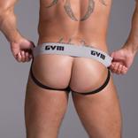"""GYM GYM Workout Jockstrap 2"""" Black"""