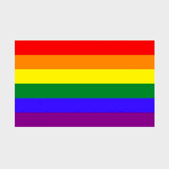 Rainbow Pride Flag (2' x 3' Polyester)