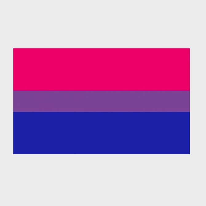 Bisexual Pride Flag (3' x 5' Polyester)