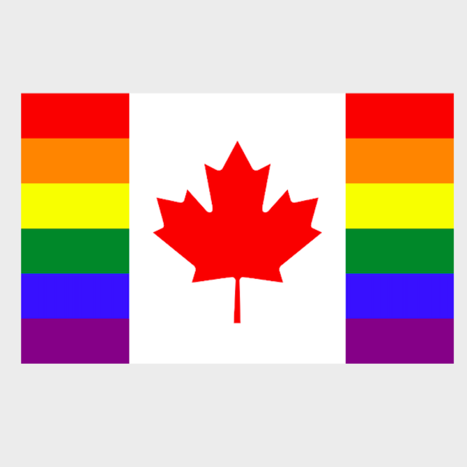 Canada Pride Flag (3' x 5' Polyester)