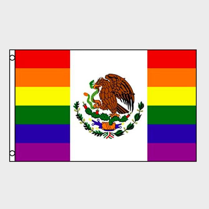 Mexico Pride Flag (3' x 5' Polyester)