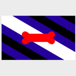 Puppy Pride Flag ( 3' x 5' Polyester)