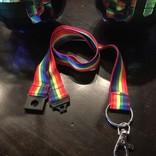 Rainbow Lanyard - Nylon