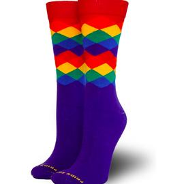 Argyle Pride Socks