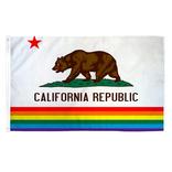 California Pride Flag (3' x 5' Polyester)