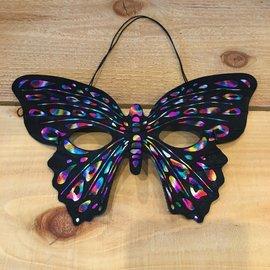 Rainbow Butterfly Mask