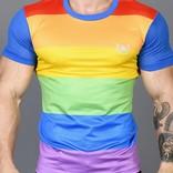Andrew Christian Ultra Pride Laurel Mesh Tee