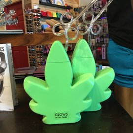 Pot Leaf Cup -(Glow-in-the-Dark)