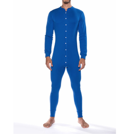Go Softwear Lumber Jack Union Suit - Royal Blue