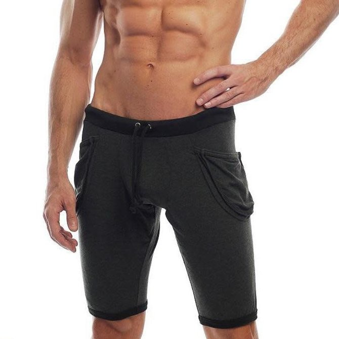 Go Softwear Lumber Jack Yoga Short - Black