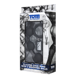 Tom of Finland - Cock Ring with Weighted Balls