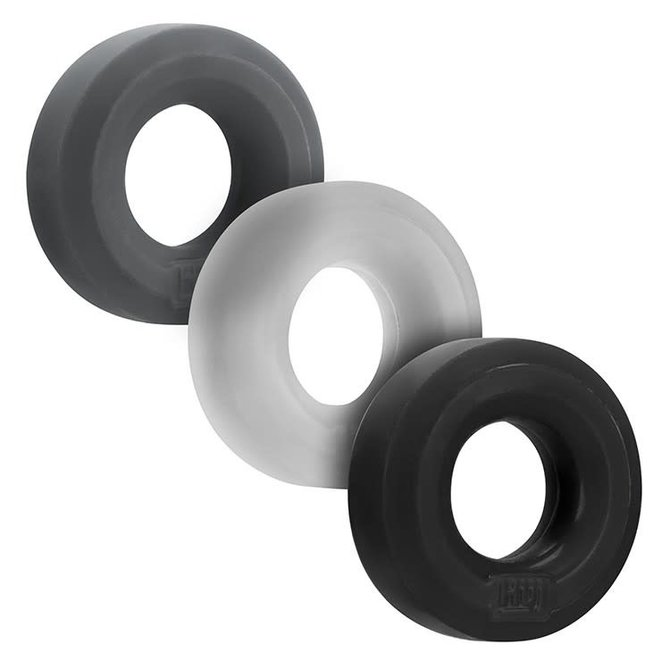 Silicone 3 Pack - Tar/Ice/Stone