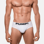 PUMP! White Classic Brief