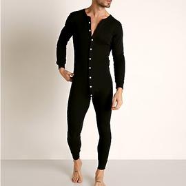 Go Softwear Lumber Jack Union Suit - Black