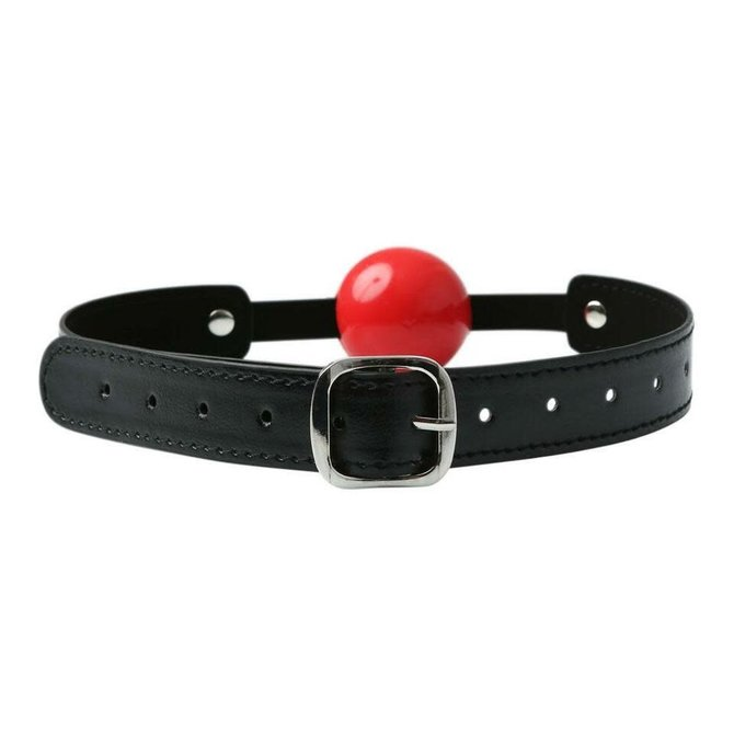Solid Red Ball Gag
