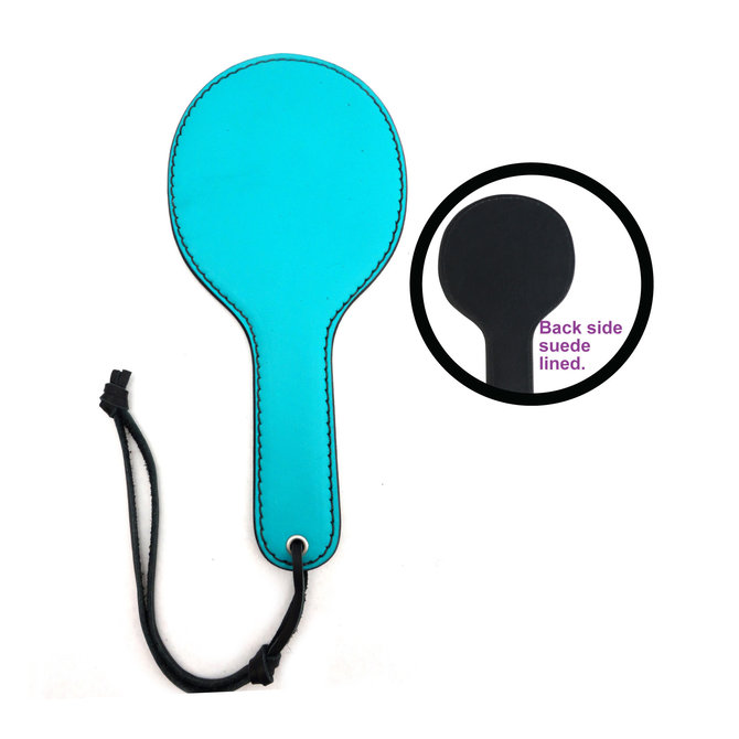 Leather/Suede Pocket Paddle - Turquoise