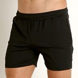 "STEELE 6"" Stretch Mesh Performance Shorts - Black"