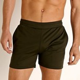 "STEELE 6"" Stretch Mesh Performance Shorts - Olive"