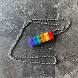 Alan Leingang Pendant - Rainbow