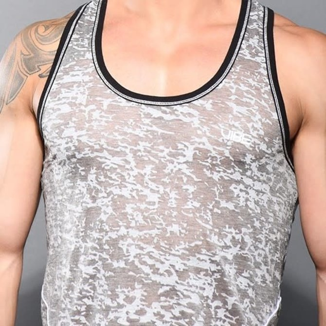 Andrew Christian Vibe Burnout Gym Tank