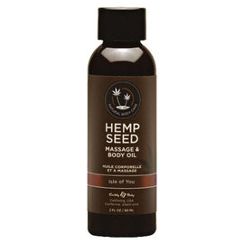 Hemp Seed Massage Oil - Isle Of You