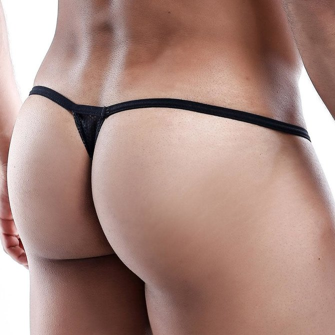 HUNG HUNG Micro G-String Black
