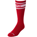 Nasty Pig Hook'd Up Sports Sock - Red/White