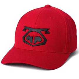 Nasty Pig Snout Cap - Cherry Red/Black