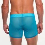 Go Softwear/American Jock AJ Elite Sport Mesh Short - Turquoise